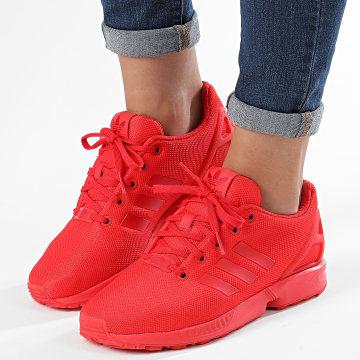Adidas Originals - Baskets Femme ZX FLux EG3823 Red