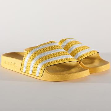 Adidas Originals - Claquettes Femme Adilette EG5007 Jaune