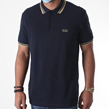 BOSS - Polo Manches Courtes Paddy 50398302 Bleu Marine
