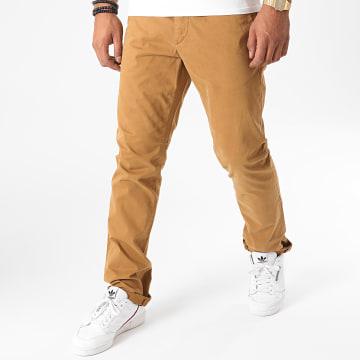 Celio - Pantalon Chino Pobelt Camel