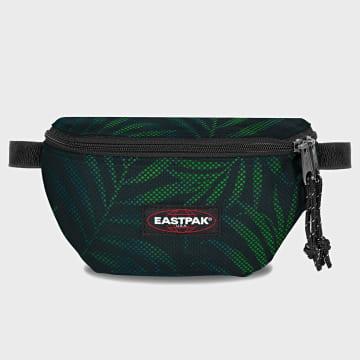 Eastpak - Sac Banane Springer K074 Noir Vert Floral