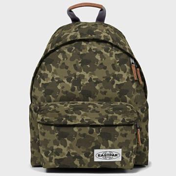 Eastpak - Sac A Dos Padded Pak'r K620 Vert Kaki Camouflage