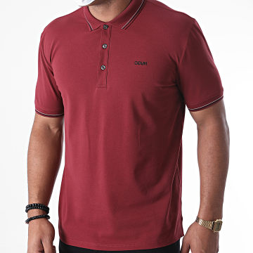 HUGO - Polo Manches Courtes Reverse Logo Dinoso 204 50437298 Bordeaux