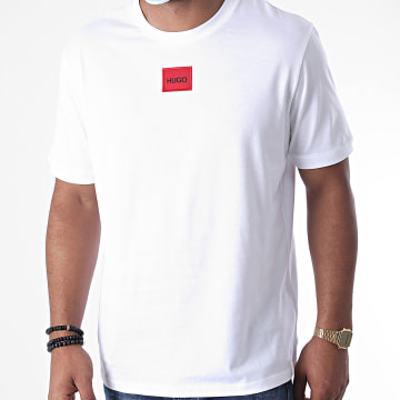 HUGO - Tee Shirt Diragolino 50437287 Blanc