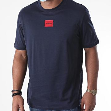 HUGO - Tee Shirt 50437287 Bleu Marine