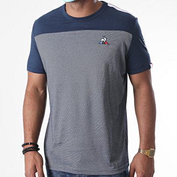 Le Coq Sportif - Tee Shirt Saison 1 N1 2020525 Bleu Marine