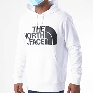The North Face - Sweat Capuche Standard XYDF Blanc