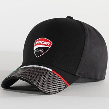Ducati - Casquette Corse Badge DU2046002 Noir