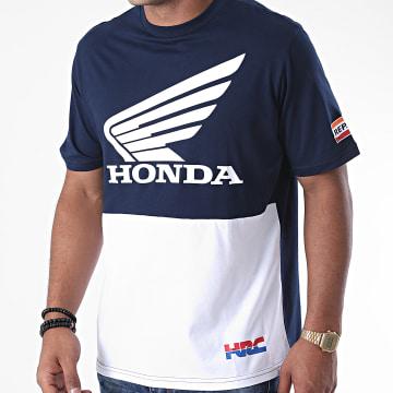 F1 et Motorsport - Tee Shirt Colorblock 38504 Bleu Marine
