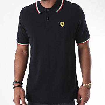Ferrari - Polo Manches Courtes Tricolore 130171023 Noir