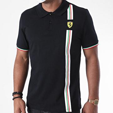 Ferrari - Polo Manches Courtes Italian Flag 130101068 Noir