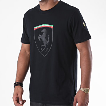 Ferrari - Tee Shirt Mono Shield 130191011 Noir