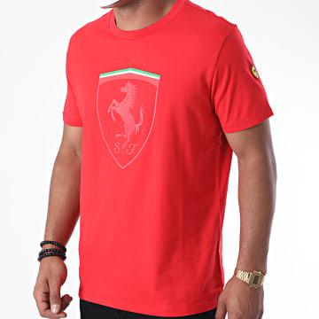 Ferrari - Tee Shirt Mono Shield 130191011 Rouge