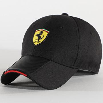 Ferrari - Casquette Scudetto Carbon Strip 130191035 Noir