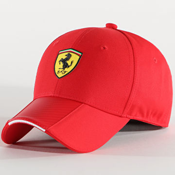 Ferrari - Casquette Scudetto Carbon Strip 130191035 Rouge
