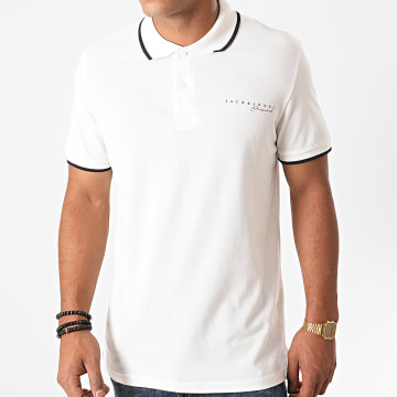 Jack And Jones - Polo Manches Courtes Logan Blanc