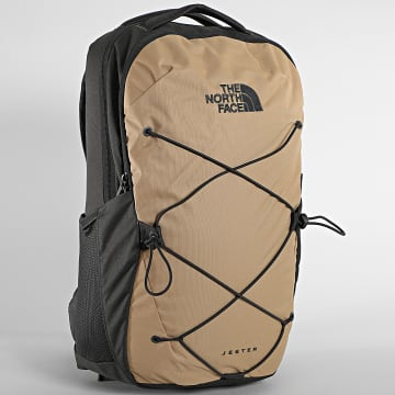 The North Face - Sac A Dos Jester Beige Gris Anthracite
