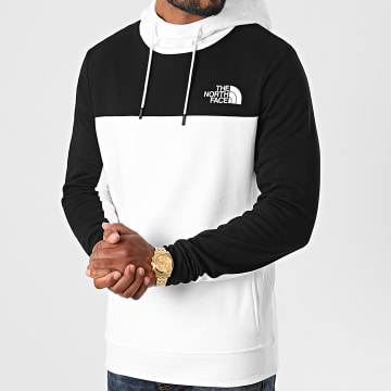 The North Face - Sweat Capuche Himalayan A4SWN Blanc Noir