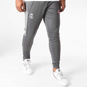 Adidas Performance - Pantalon Jogging Real Madrid FQ7885 Gris