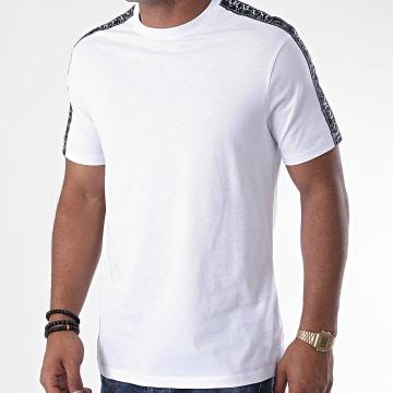 Armani Exchange - Tee Shirt A Bandes 6HZMFM-ZJH4Z Blanc