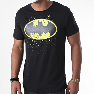 DC Comics - Tee Shirt Batman Splatter Noir