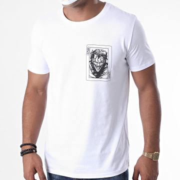 DC Comics - Tee Shirt Joker Card Blanc