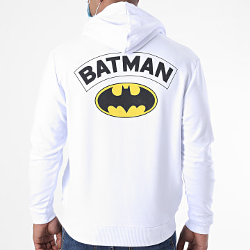DC Comics - Sweat Capuche B For Batman Blanc