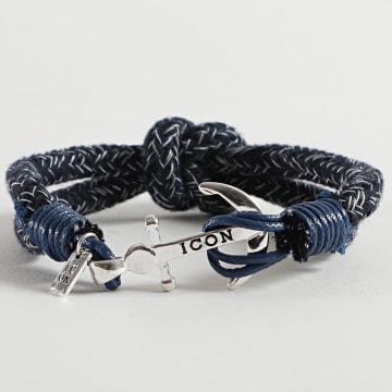 Icon Brand - Bracelet Captain Flint Bleu Marine