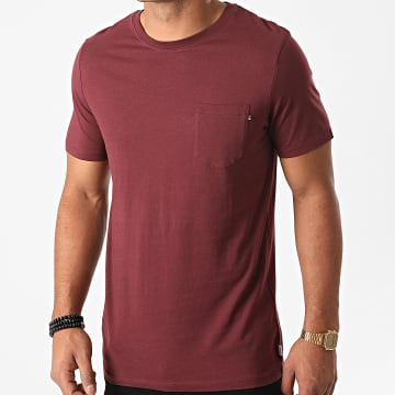 Jack And Jones - Tee Shirt Poche 12136714 Bordeaux