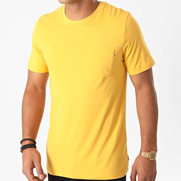 Jack And Jones - Tee Shirt Poche 12136714 Jaune