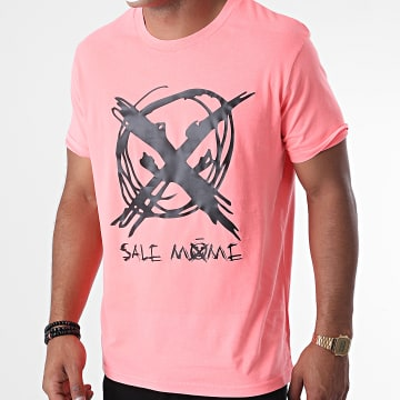 Niro - Tee Shirt Sale Mome Rose Fluo