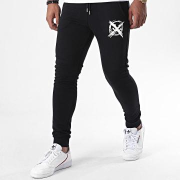 Niro - Pantalon Jogging Sale Mome Noir Blanc