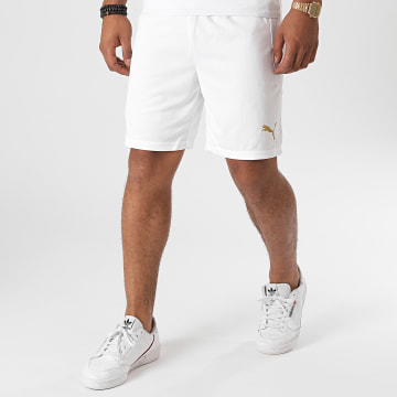 Puma - Short Jogging OM Replica 757041 Blanc