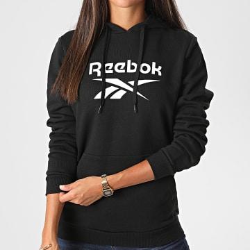 Reebok - Sweat Capuche Femme Classic Big Logo FT8187 Noir