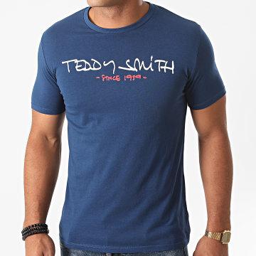 Teddy Smith - Tee Shirt Super Bleu Marine