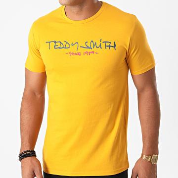 Teddy Smith - Tee Shirt Ticlass Basic Jaune