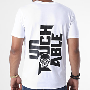 Untouchable - Tee Shirt Logo 2020 Blanc