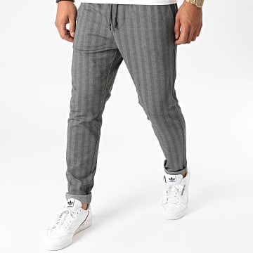 Only And Sons - Pantalon A Rayures Linus Kamp Gris