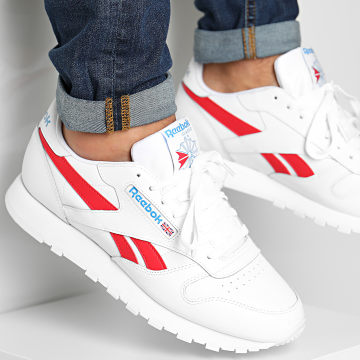 Reebok - Baskets Classic Leather FV6372 White Vector Red Horizon Blue