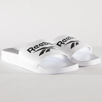 Reebok - Claquettes Classic Slide FW6229 White Black