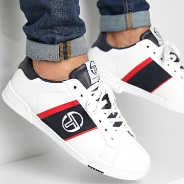 Sergio Tacchini - Baskets STM024222 White Deep Red