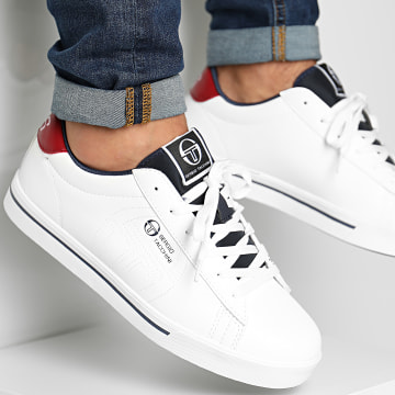 Sergio Tacchini - Baskets STM024612 White Deep Red