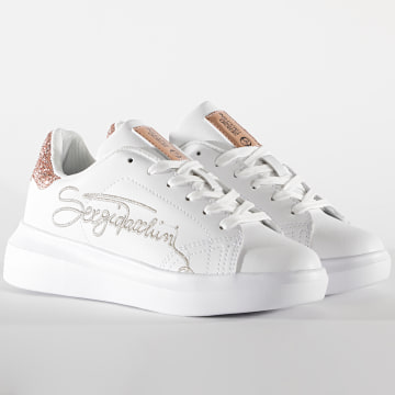 Sergio Tacchini - Baskets Femme Twiny LTX Glitter STW024400 White Rose Gold
