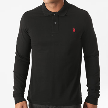US Polo ASSN - Polo Manches Longues Institutional Noir
