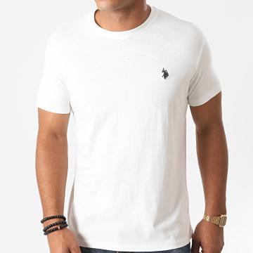 US Polo ASSN - Tee Shirt USPA Ecru