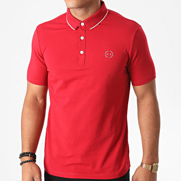 Armani Exchange - Polo Manches Courtes 8NZF70-Z8M9Z Rouge