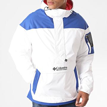 Columbia - Veste Outdoor 1698431 Blanc Bleu Roi