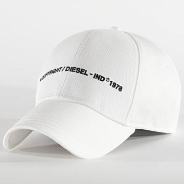 Diesel - Casquette Comixi Blanc