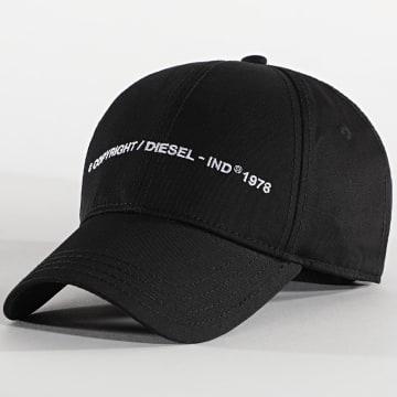 Diesel - Casquette Comixi Noir
