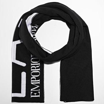 EA7 Emporio Armani - Echarpe Train Visibility 275894 Noir